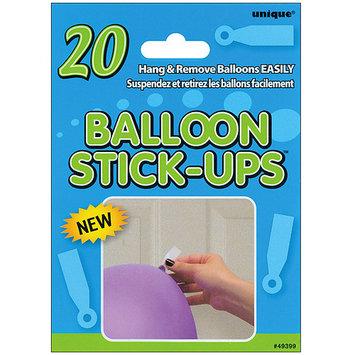 Unique 49399 Industries Balloon Stick Ups 20/Pkg 6 Items/Order