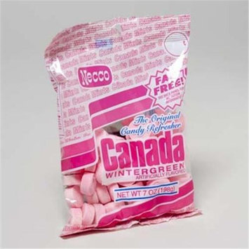 Ddi Canada Wintergreen Mints 7 Oz.(Case of 12)