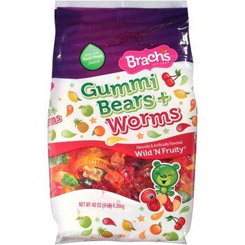 Brach's Wild N' Fruity Gummi Bears & Worms, 48 oz