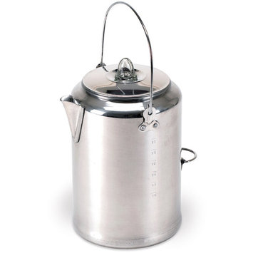 Stansport 279 Aluminum 20-Cup Percolator Coffee Pot