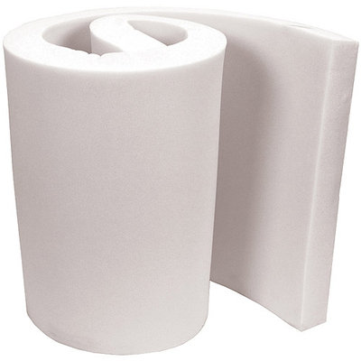 Air Lite Extra High Density Urethane Foam 2 X18 X82 - White FOB: MI