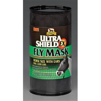 Absorbine UltraShield EX Fly Masks Horse 900-1200 lbs Black