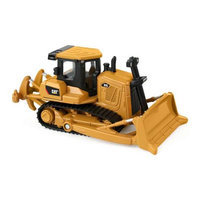 Toy State CAT 3.5 inch Metal Machines - Bulldozer