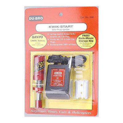 666 Kwik-Start Glo Plug Ignitor DUBP1400 DUBRO PRODUCTS