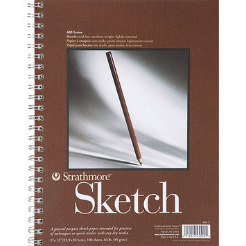 Strathmore Spiral Sketch Book 9