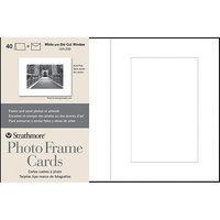 Strathmore White Photo Frame Greeting Cards (Pack of 40)