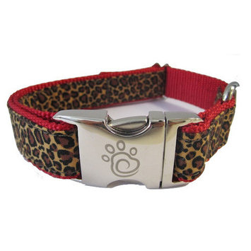 Chief Furry Officer The Zoo Dog Collar Size: Small