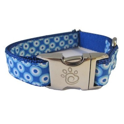 Chief Furry Officer Huntington Beach Dog Collar Size: Large