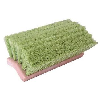 Weiler 804-44699 10 Inch Bi-Level Scrub Brushflagged White Polystyren