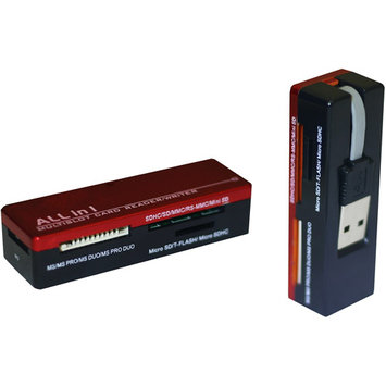 Inland 08308 Pro 25 in 1 Card Reader/Writer