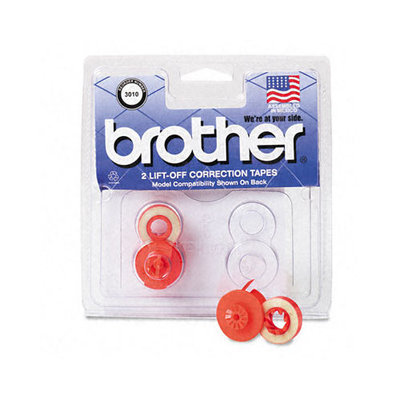 Brother International Corp. BRT3010 Lift Off Correction Tape- F-Typewriters- Yields 1500- 2 Ct