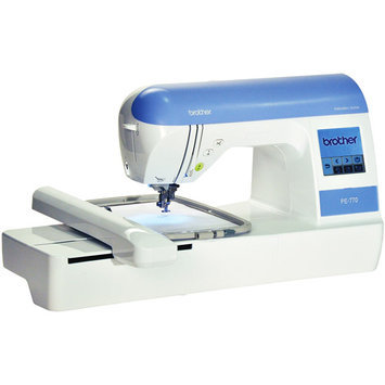 Brother International Brother PE770 Embroidery Machine with USB Memory-Stick Compatibility