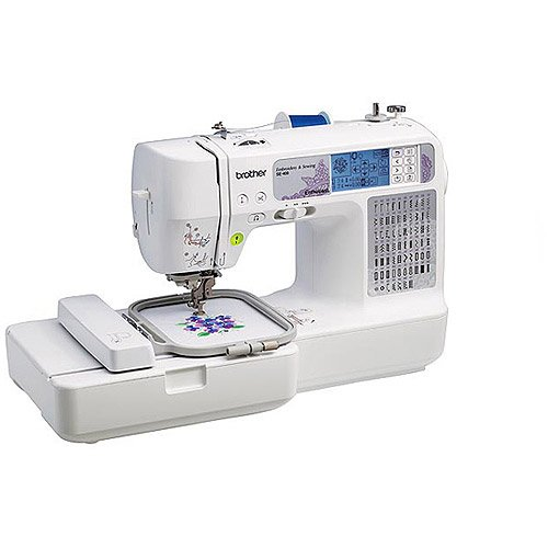 Brother International SE400 Sewing/Embroidery Machine