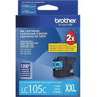 Brother International LC105C Lc105c High Yield Cyan Ink For Mfcj4410dw 4510dw 4610dw