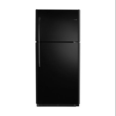 20.6 cu. ft. Top-Freezer Refrigerator - Black