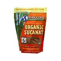 WHOLESOME SWEETNERS 1 Organic Sucanat 1 LB