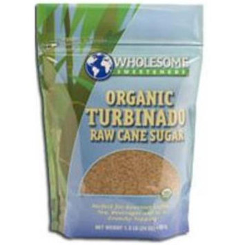 WHOLESOME SWEETNERS Turbinado Demerara Sugar 50x