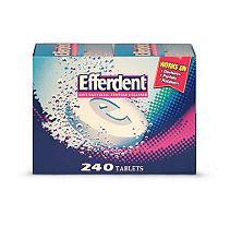 Efferdent Denture Cleanser (240 ct.)