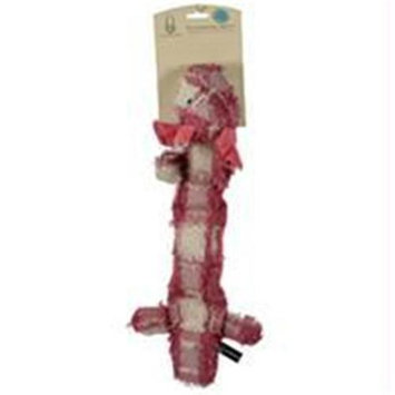 Hyper Products-Patchwork Skinz Stuffless Dog Toy With Squeaker- Pig