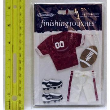 Ddi Football Embellishments Case Of 48
