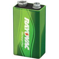 Rayovac Platinum Rechargeable NiMH Batteries, 9V RAYPL16041GEN