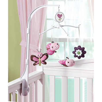 Summer Infant Ladybug Garden Mobile - Pink