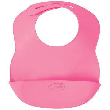 Summer Infant Bibbity Rinse and Roll Bib Pink