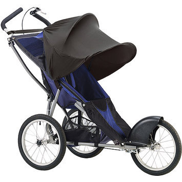 Summer Infant Rayshade Single Stroller Cover in Black