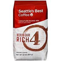 Seattle's Best Level 4 Ground Coffee - 32 oz.