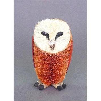 Brushart BRUSHAMB05 Owl Barn BrushArt Animal Figurine