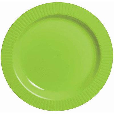 Amscan Premium Plastic Banquet Dinner Plates