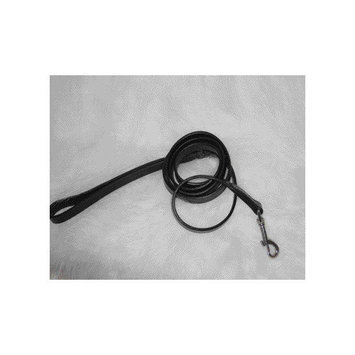 Hamilton Leather LM8 34BK Leather Lead, Black