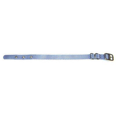Hamilton Pet Company - Single Thick Nylon Dog Collar- Hot Pink .63 X 18 - ST 18HP
