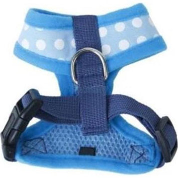 Hamilton Pet Mhb Adjustable Mesh Dog Harness / Size (XS Blue)