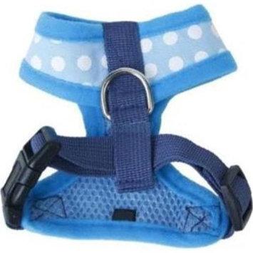 Hamilton Pet Mhb Adjustable Mesh Dog Harness / Size (Small Blue)