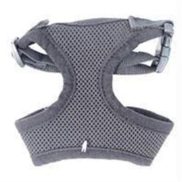 Hamilton Pet Soft Mesh Dog Harness Medium Black MHB MDBK