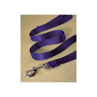Hamilton Pet Company - Single Thick Nylon Lead- Hot Purple .75 X 4 - SLT 4PU