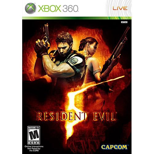 Capcom Xb3cap33010 Resident Evil 5 - Xbox 360