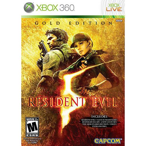 Capcom USA Resident Evil 5: Gold Edition (Xbox 360)