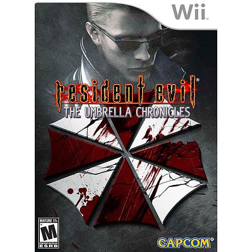 Nintendo Resident Evil: The Umbrella Chronicles Wii Game CAPCOM