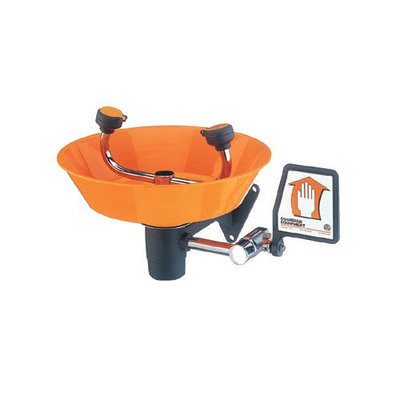 Guardian G1814P Eyewash, Wall Mounted, Plastic Bowl
