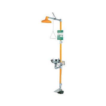 Guardian Equipment Eye Wash & Shower Stations - eye wash & shower safetystation w/hand & fo