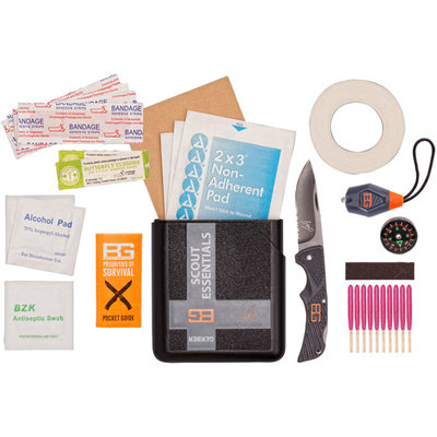 Gerber Bear Grylls Scout Essentials Survival Kit with Plastic Case