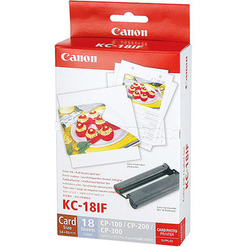 Canon KC-18IF Ink / Labels - Cartridge, Sheet