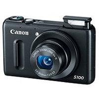 Canon PowerShot S100 Silver Digital Camera