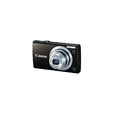 Canon PowerShot A2400 IS 16MP Digital Camera, Black 6188B001
