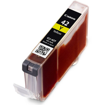 Canon CLI-42Y Ink Cartridge - Yellow - Inkjet - OEM