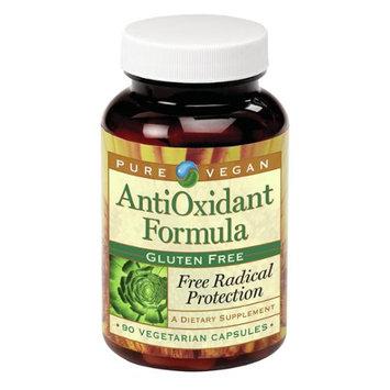 Pure Vegan AntiOxidant Formula Gluten Free - 90 Vegetarian Capsules