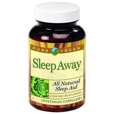 Pure Vegan Sleep Away 120 Vegetarian Capsules