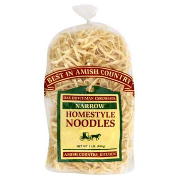Das Dutchman Essenhaus Narrow Homestyle Noodles, 16 oz, - Pack of 6